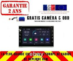 Autoradio DVD Gps Navi Android 9.0 Dab+ Wifi Vw Passat B5 Golf 4 Polo Rv5806