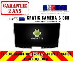 Autoradio DVD Gps Navi Android 9.0 Dab+ Wifi Vw Passat B7/cc (12-15) Rv5386