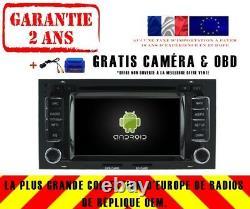 Autoradio DVD Gps Navi Android 9.0 Dab+ Wifi Vw Touareg (04-11) Rv5769
