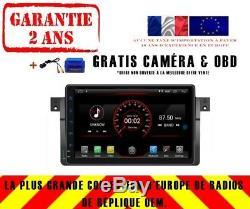Autoradio DVD Gps Navi Android 9.1 Dab+ Bmw 3 Séries E46 M3 98-05 K5319