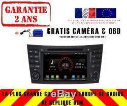 Autoradio DVD Gps Navi Android 9.1 Dab+ Bt Mercedes Benz G-class W463 K5799