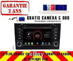 Autoradio DVD Gps Navi Android 9.1 Dab+ Bt Usb Pour Audi A6 Rs6 97-04 S6 K5577