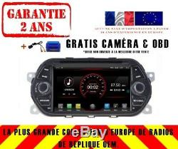 Autoradio DVD Gps Navi Android 9.1 Dab+ Carplay Wifi Fiat Tipo Eaga K5336