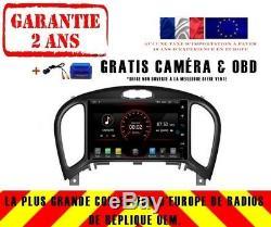Autoradio DVD Gps Navi Android 9.1 Dab+ Carplay Wifi Nissan Juke 2012-2017 K5363