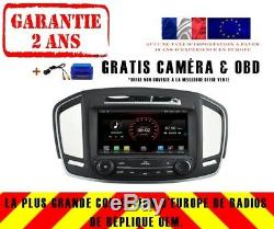 Autoradio DVD Gps Navi Android 9.1 Dab+ Carplay Wifi Opel Insignia 2014+ K5548