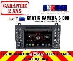 Autoradio DVD Gps Navi Android 9.1 Dab+ Mercedes Benz Slk Classe W171 K5576