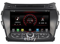 Autoradio DVD Gps Navi Android 9.1 Dab Usb Carplay Hyundai Santa Fe 2013+ K6266