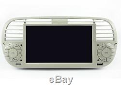 Autoradio DVD Gps Navi Android 9.1 Dab+ Usb Carplay Pour Fiat 500 K6779w