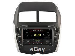 Autoradio DVD Gps Navi Android 9.1 Dab+ Usb Carplay Wifi Mitsubishi Asx K6843