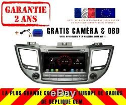 Autoradio DVD Gps Navi Android 9.1 Dab+ Usb Hyundai Tuscon 2016+ K6273