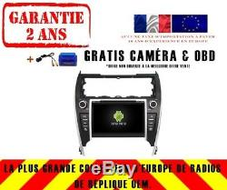 Autoradio DVD Gps Navi Android 9.1 Dab+ Usb Toyota Camry 2012 K6143