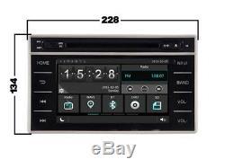 Autoradio DVD Gps Navi Android 9.1 Dab+ Usb Toyota Hilux 2015 K6141