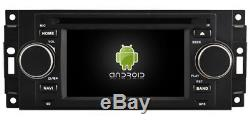 Autoradio DVD Gps Navi Android 9.1 Dab+ Usb Wifi Dodge Ram Jeep Compass K6833