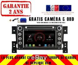 Autoradio DVD Gps Navi Android 9.1 Dab+ Usb Wifi Suzuki Grand Vitara 05-12 K6660
