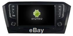 Autoradio DVD Gps Navi Android 9.1 Dab+ Usb Wifi Vw Passat B8 2017 K6249