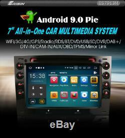 Autoradio Erisin ES7913M 7 Android 9.0 Megane Pour Wifi 4G DVB-T2 Navi S