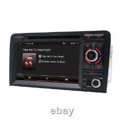 Autoradio Pour Audi A3 S3 RS3 Android 10 GPS Navi DVD 2 din Autoradio Wifi BT