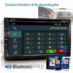 Autoradio avec Android 10 2DIN GPS Navi Bluetooth USB WiFi 32GB