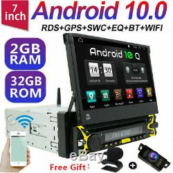Autoradio avec Android 10 2Gb 32Gb Ram Navi Dvd Bluetooth Wifi 128GB Dab+ 1Din