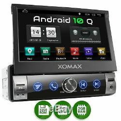 Autoradio avec Android 10 2 Go 32 Go Navi GPS Bluetooth Wifi 3g 4g Dab Obd2 1DIN