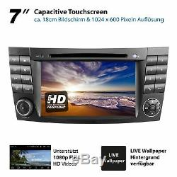 Autoradio avec Android 10 32 Go pour Mercedes W211 W219 W463 Navi Wlan