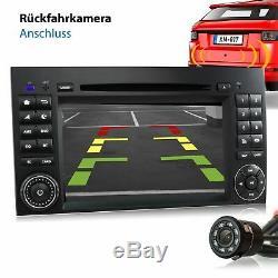 Autoradio avec Android 10 pour Mercedes W169 Bluetooth DVD GPS Navi