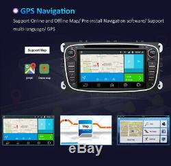 Autoradio for Ford Focus Mondeo Galaxy C/S-Max Android 10 GPS NAVI CD/DVD USB 4G