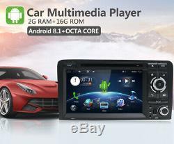 Autoradio pour Audi A3 S3 RS3 Android 9.0 GPS Navi DVD 2 din Autoradio Wifi BT