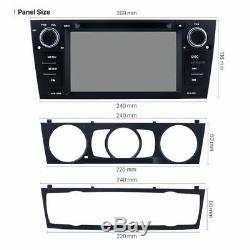 BMW E90 E91 E92 E93 3er Android 8 Autoradio GPS Navi DVD Tactile USB SD Wifi