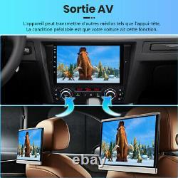 DAB+9Android 10.0 Autoradio Pour BMW 3 Series E90 E91 E92 GPS NAVI WIFI DSP USB