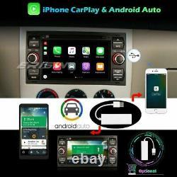 DAB+ Android 10.0 Autoradio CarPlay GPS Navi For Ford C/S-Max Mondeo Kuga Fiesta