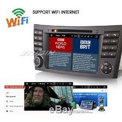 DAB+Android 7.1.2 GPS Autoradio OBD2 Navi Mercedes-Benz E/CLS/G Klasse W219 W211
