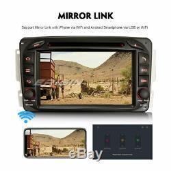 DAB+Android 8.1 Autoradio GPS Mercedes C/CLK/G Class Viano Vito Navi TNT DVD RDS
