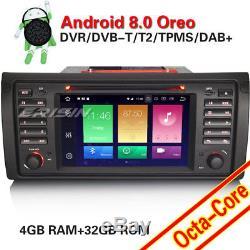 DAB+Autoradio for BMW 5 Series E39 X5 E53 M5 7Android 8.0 NAVI GPS DVD TNT