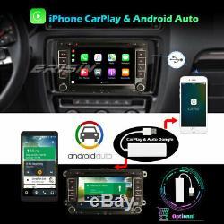 DSP Android 10.0 Autoradio TNT DAB+ Navi For VW Passat Golf 5 Tiguan Polo Jetta