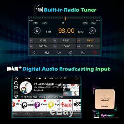 DSP Android 10.0 Universal 2Din Autoradio WiFi TNT OBD2 Bluetooth TPMS DAB+ Navi