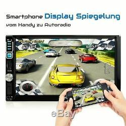 Dab+ Autoradio Avec Android 6.0.1 2gb 32gb Navigation Navi Wlan Usb Sd Mp3 2din