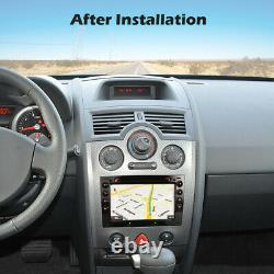 Double DIN Autoradio GPS Navi Renault Megane 2003-2010 7 Android 10 Lecteur DVD