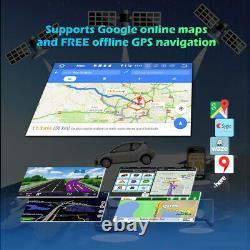 Double DIN Autoradio GPS Navi Renault Megane II 02-08 7 Android 10 Lecteur DVD