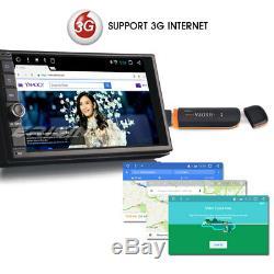 Double din Android 7.1 Autoradio GPS NAVI DAB+ Bluetooth USB DVR RDS OBD2 WIFI