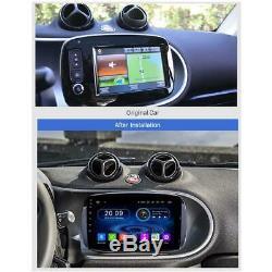 Écran Tactile Android 9 Autoradio GPS Navi USB SD pour Smart avec D'Origine