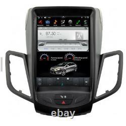 Ford Fiesta Android 9 10.4 Tactile Autoradio Bluetooth Wifi GPS Navi USB SD