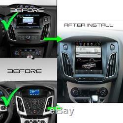 Ford Focus Android 9 Autoradio 3D GPS Navi Écran Tactile Bluetooth SD Wifi USB