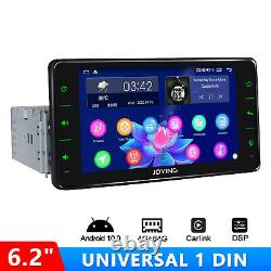 JOYING 6.2 Android Auto Radio Android 10 Single Din GPS Navi Fastboot DSP FM SD