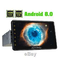 JOYING 7Inch Android Autoradio Bluetooth Navi Car Stereo MP5 Player 4GB&64GB USB