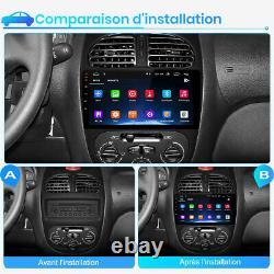 Junsun Autoradio Android DAB GPS Navi Pour PEUGEOT 206 2001-2008 DSP WIFI SWC