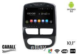 KD1095 Autoradio Android 8,0 Renault Clio GPS DVD USB SD Wi-Fi Bluetooth Navi