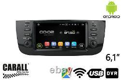 KD6247 Autoradio Android 8,0 Fiat Linea 2015 GPS DVD USB SD Wi-Fi Bluetooth Navi