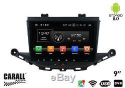 KD9010 Autoradio Android 8,0 Opel Astra K GPS DVD USB SD Wi-Fi Bluetooth Navi