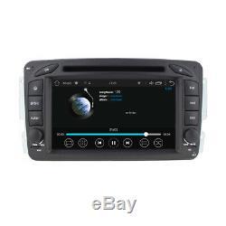 Mercedes Benz Classe C CLK Viano Vito W203 Android 8 Autoradio Navi DVD USB Wifi